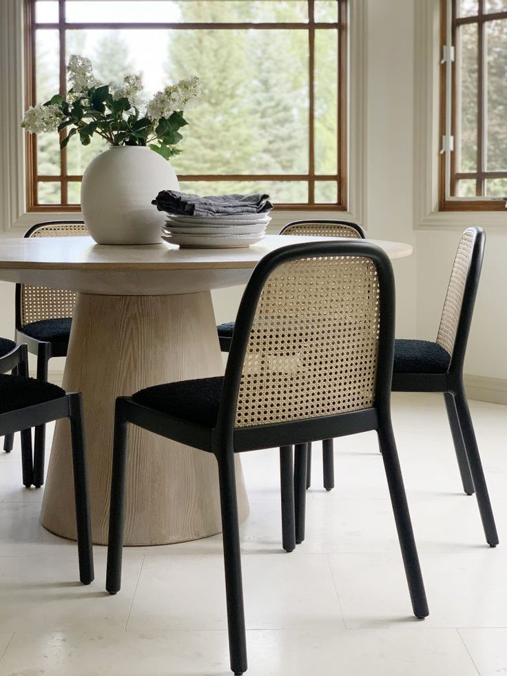 Our New Caned Dining Chairs Are Here Rattan Dining Chairs Dining Chairs Dining Room Inspiration