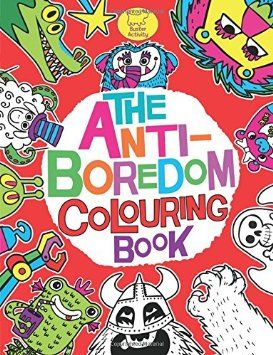 The Anti-Boredom Colouring Book (Buster Activity) price from £4.00. http