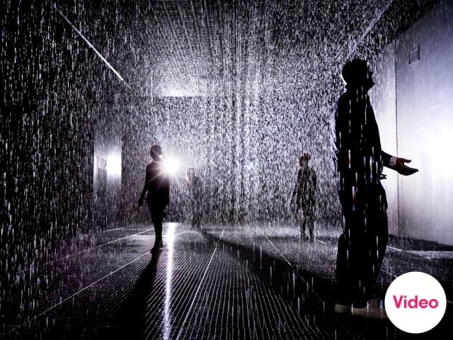Rain Room by rAndom International - News - Frameweb