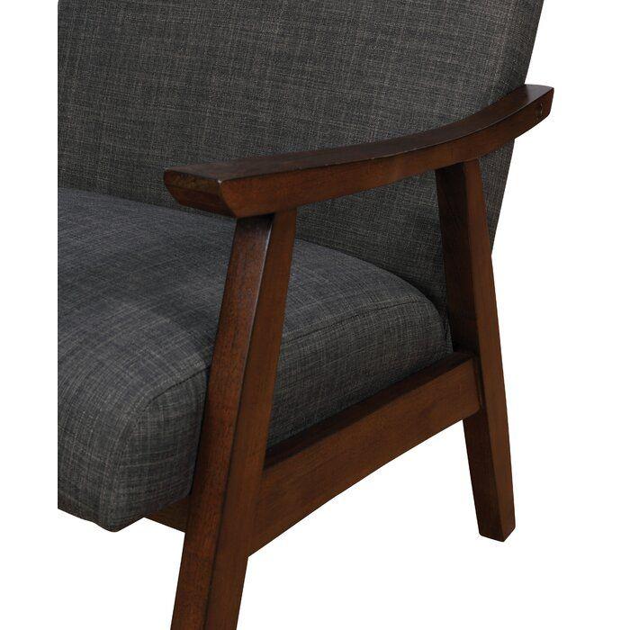 Mousseau 27 13 W Armchair Mid Century Modern Accent Chairs Upholstered Accent Chairs Modern Accent Chair