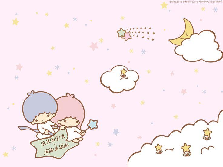 リトルツインスターズ【キキララ】 PCデスクトップ壁紙 : 【リトルツインスターズ】Little Twin ... Little Twin Stars Wallpaper 2013