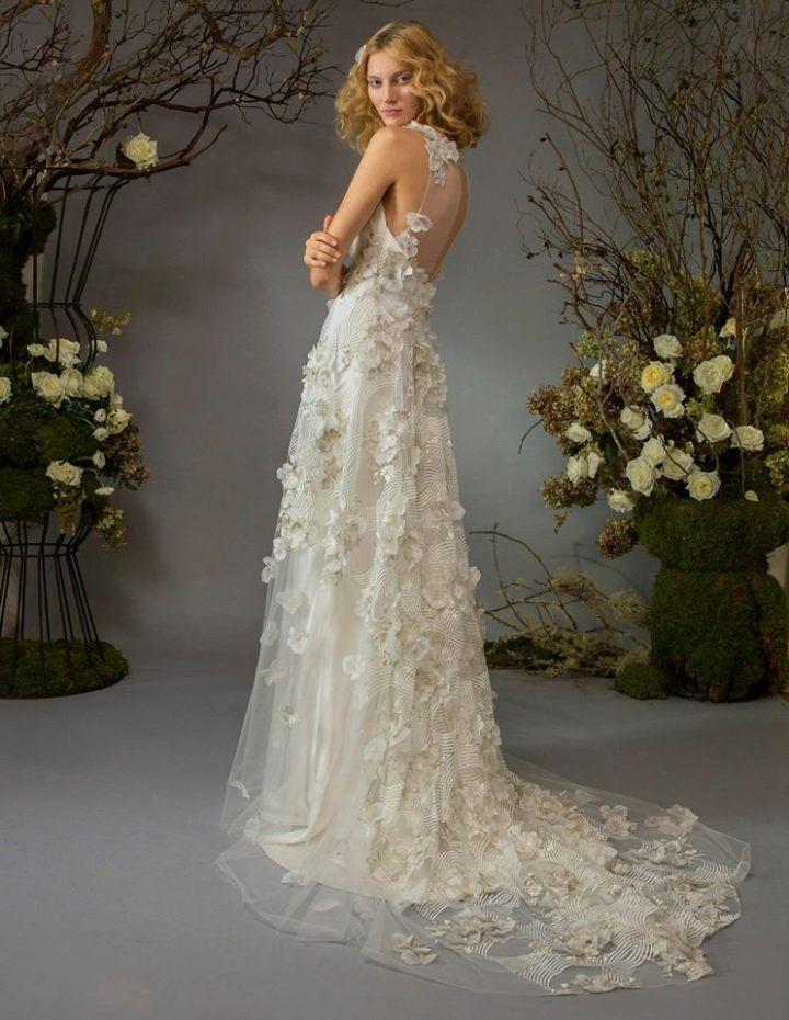 Sexy and Romantic Elizabeth Fillmore Wedding Dresses