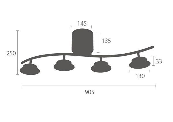 Bluetoothスピーカー内臓 Ledシーリングスポットライト Lusic ルジック スピーカー 照明 インテリア ブルートゥース スピーカー