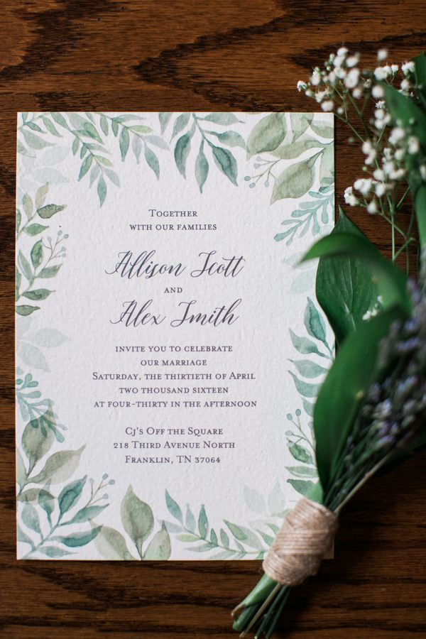 custom wedding invitations nashville%0A southern spring brunch wedding   cj u    s off the square in nashville  TN   outdoor garden
