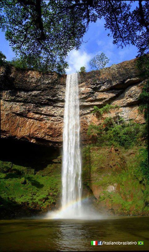 #Indianopolis (MG) - #Cachoeira de #Macacos  #ItalianoBrasileiro