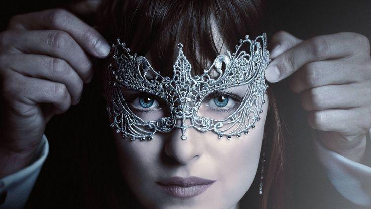 На пятьдесят оттенков темнее, дакота джонсон, маска, лучшие фильмы, Fifty Shades Darker, Dakota Johnson, mask, best movies