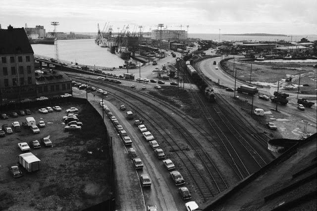 West harbour, 1970.