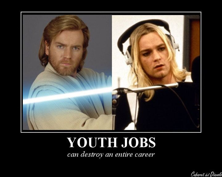 Youth Jobs can really be a problem!! XD Youth Jobs, Zachary Quinto: Youth Jobs, Chris Pine: Youth Jobs, Karl Urban: Youth Jobs, Christian Bale: Youth Jobs, David Thewlis: