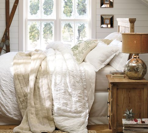 Bedroom Design Inspiration Bedroom Décor Inspiration | Pottery Barn; white planking ;