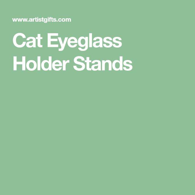 Cat Eyeglass Holder Stands
