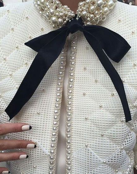 ♔ Chanel couture