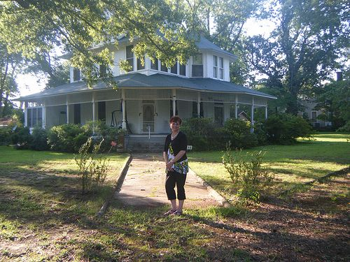 fried green tomatoes Movie Set Houses | To see a list of the movies and television shows filmed in Senoia ...
