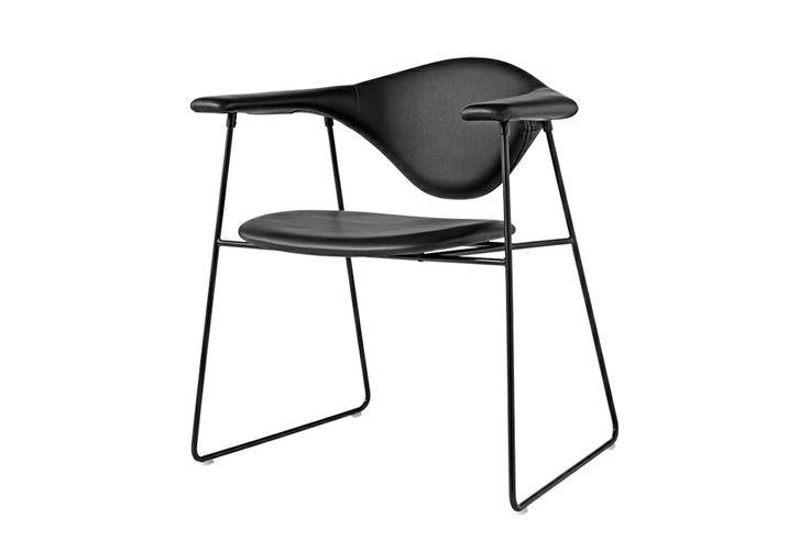 Chaise Masculo Cuir Sierra GAMplusFRATESI : Meubles design Gubi - Design Ikonik