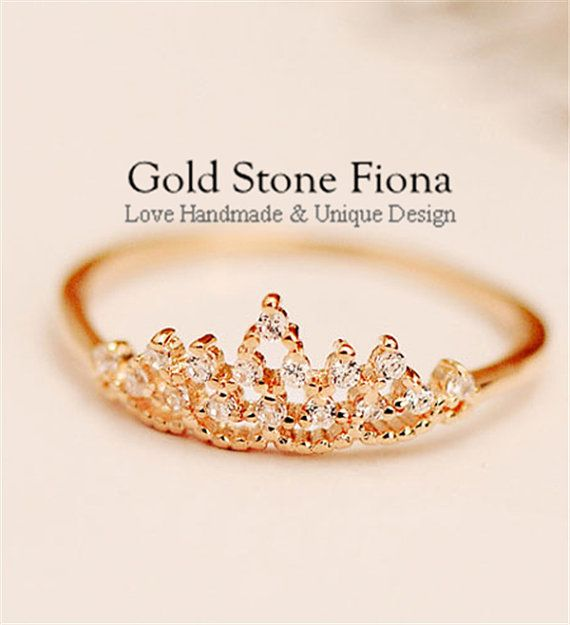 117 Best ☆Crown Rings☆ Images On Pinterest