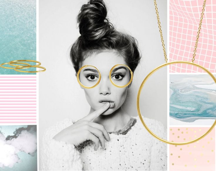 BACK TO BASIC #jewelry #hvisk #pretty #model #knot #gold #goldengirl #spring #springfeeling