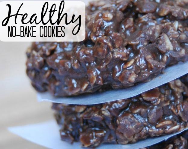 Healthy No-Bake Cookies | The Frugal Farm Wife