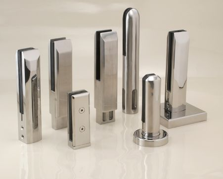 glass balustrade clamps