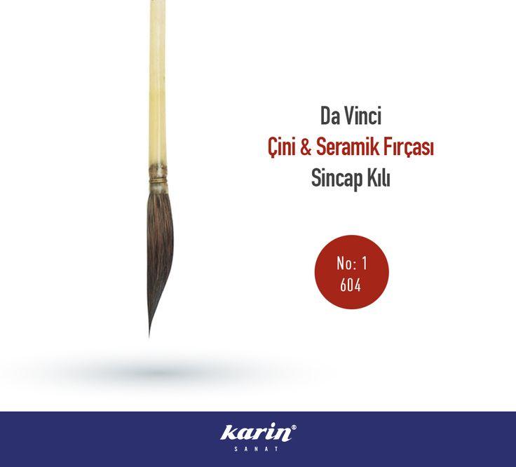 Da Vinci Çini & Seramik Fırçası http://bit.ly/2gxUqpX  #DaVinci #Çini #Seramik #Fırça #Brush #SincapKılı #Karinsanatmalzemeleri #Resim