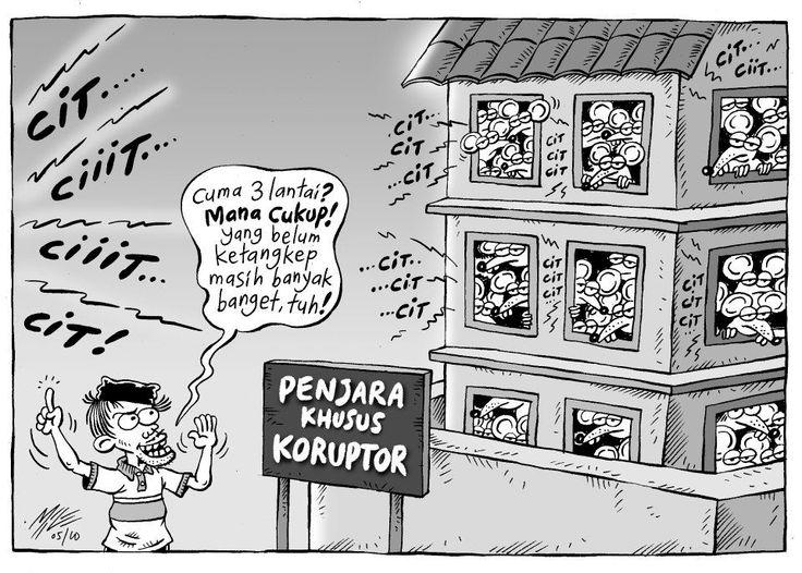 Mice Cartoon, Rakyat Merdeka - Mei 2010: Penjara Khusus Koruptor