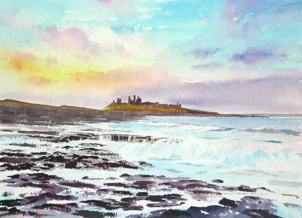 dunstanburgh at night - Google Search