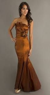 Image result for bronze bridesmaid dresses