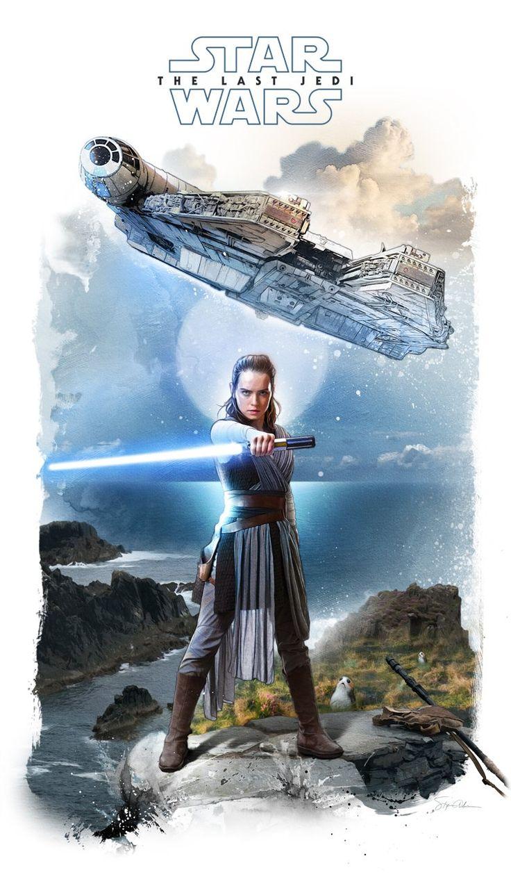 Star Wars The Last Jedi #starwars #tfishboard