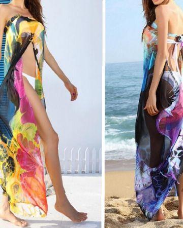 παρεό-καφτάνι-πολύχρωμο-παραλία-μαγιό-swimwear-colourful-beach-yellow.