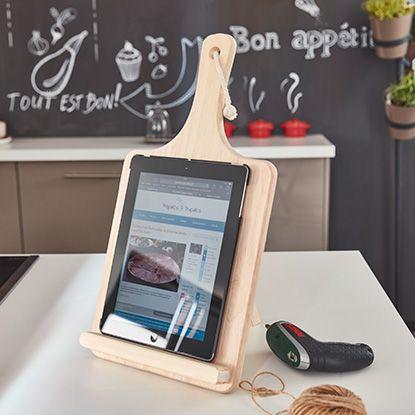 Tuto : créer un support pour tablette