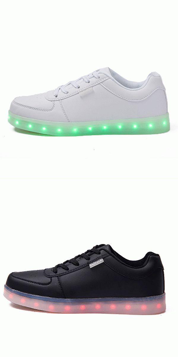 b282f1cff7f4 Unisex usb led light lace up luminous shoes sportswear couple luminous  sneaker fila women 8217 s elleray 5 casual shoes  casual  shoes  edmonton   casual ...