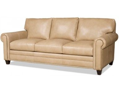 Charming Bradington Young Daylen Leather Sofa. Custom Made In The USA! : Leather  Furniture Expo