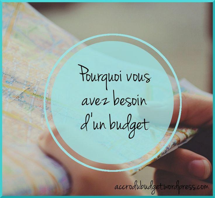 pourquoi besoin d'un budget