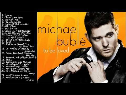 Best songs Of MICHAEL BUBLE || MICHAEL BUBLE's Greatest Hits[Full Album]. If you guys want to listen to him you can