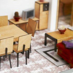 This is a guide about making doll furniture. Whether you purchase kits to make realistic dollhouse furniture or help kids make it out of recycled materials, making doll furniture can be fun.