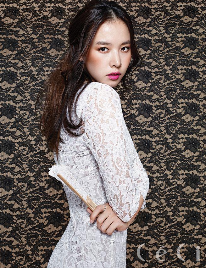 Jo Yoon Hee - Ceci Magazine December Issue '14