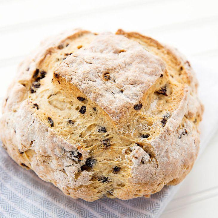 Irish Soda Bread Recipe Breads with all-purpose flour, baking powder, baking…