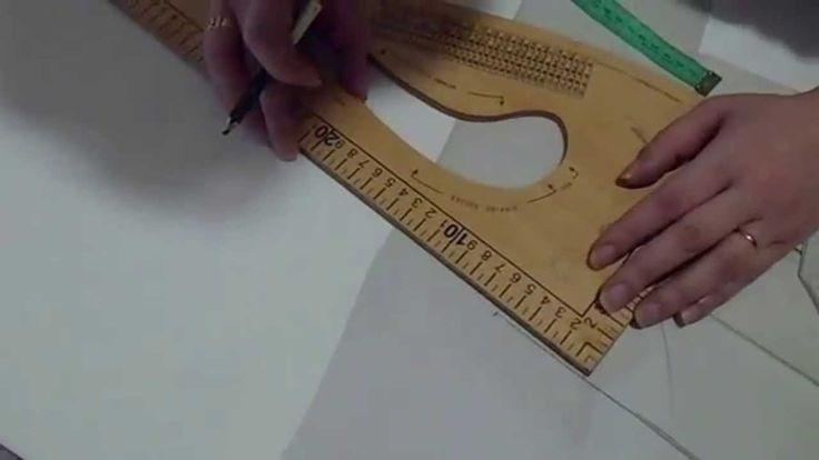 Como trazar y cortar blazer (Peticion)