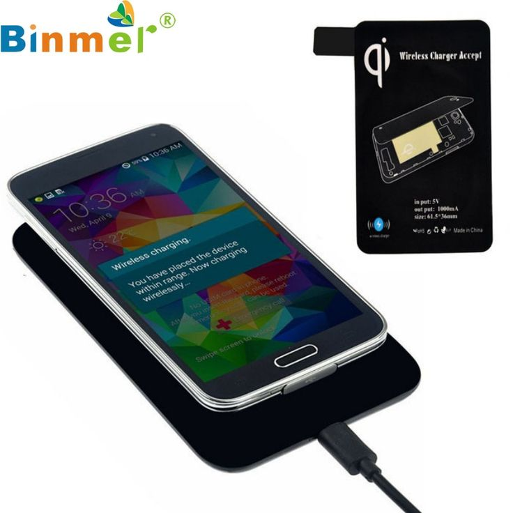 Novelty Scientific Qi Standard Wireless Charger+Receiver For Samsung Galaxy S5 I9600 G900 Charging Pad Top Quality