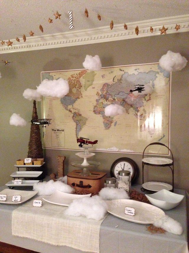 22 best Vintage Maps images on Pinterest Boy shower Shower ideas