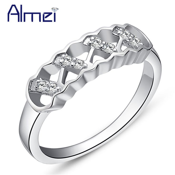 Find More Rings Information about Almei Women Rings With Cubic Zirconia Stones Wedding Ring For Women Female Anillos De Plata Con Piedras Cz Diamond Jewelry J404,High Quality ring mug,China ring float Suppliers, Cheap ring cost from Almei Jewelry Store on Aliexpress.com