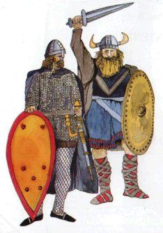 From Exploring History 4 by Michael Ryan, (Dublin 1986) 5 lessons on vikings