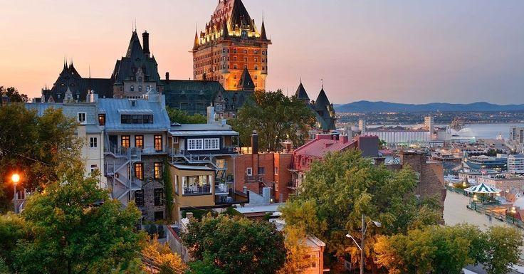 Pontos turísticos em Quebec #viagem #canada #viajar