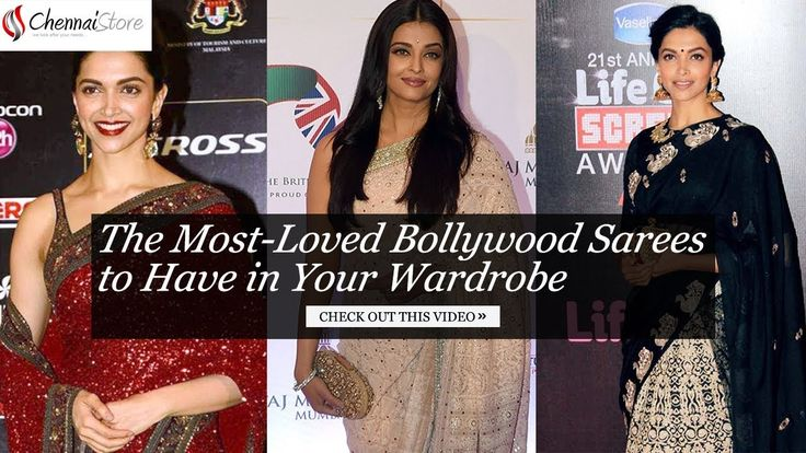 The Most-Loved Bollywood Sarees to Have in Your Wardrobe.
