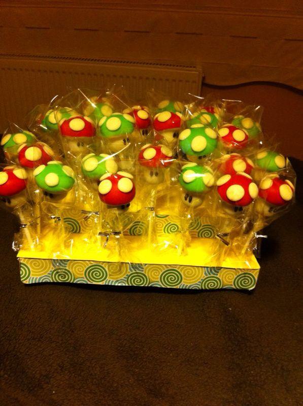Pop cakes Mario bros