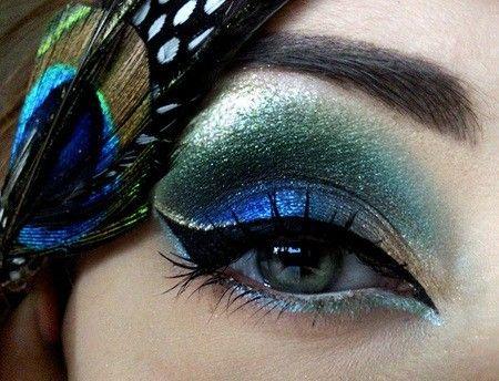 Peacock eye.