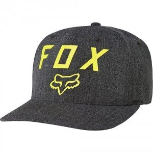 Fox Gorra Number 2 Flexfit Cap - Black