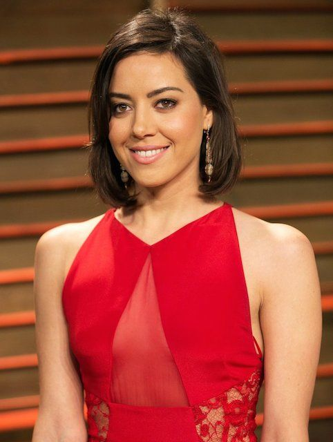 Aubrey Plaza at 2014 Vanity Fair Oscar Party