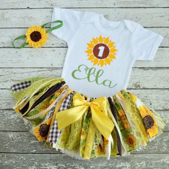 Sunflower Birthday Shirt Sunflower Birthday by ThePickledPeanut