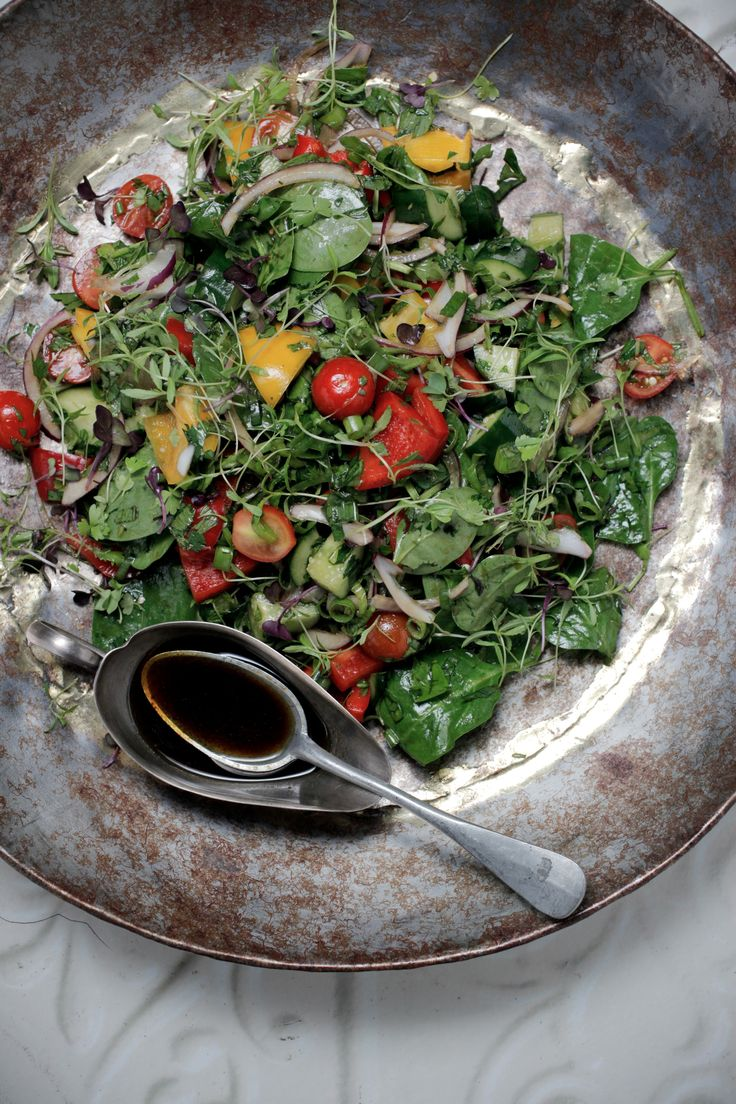 Doesn't seem to go straight to salad, but I like the woman's website and recipes so pinning for that reason.