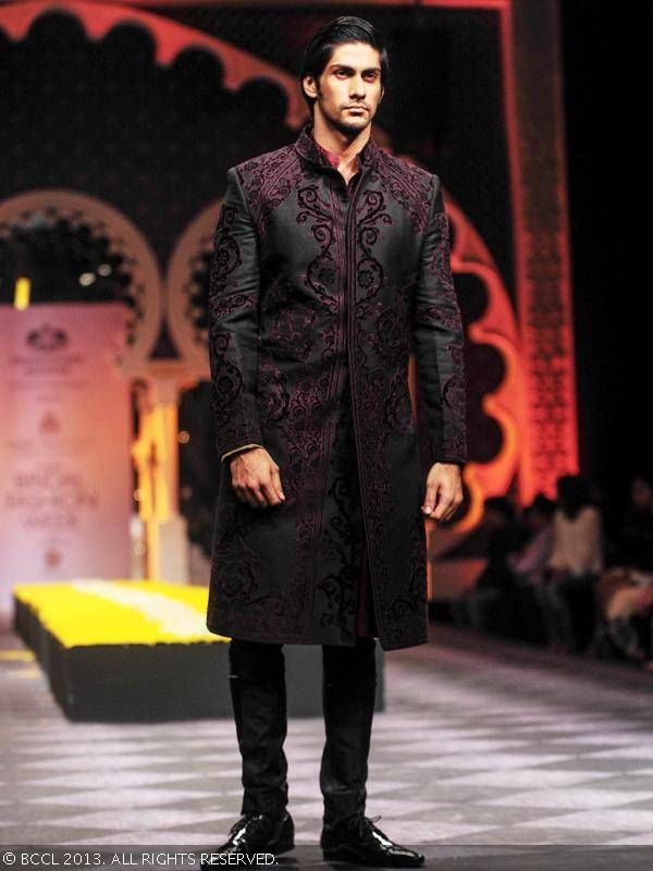 Sherwani by Raghavendra Rathore at India Bridal Fashion Week '13
