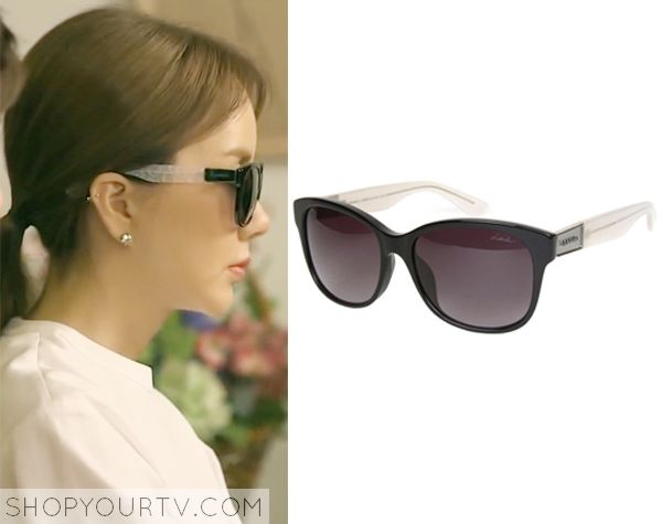 Witch's Romance: Episode 7 Ban Ji Yeon's Black Sunglasses - ShopYourTv